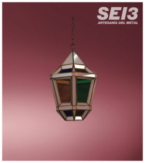 Faroles Granadinos de Sei3 Iluminación Artesanal