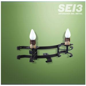 Lámparas y Apliques de Forja SEI3 Iluminación