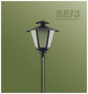 Alumbrado público Rústico SEI3
