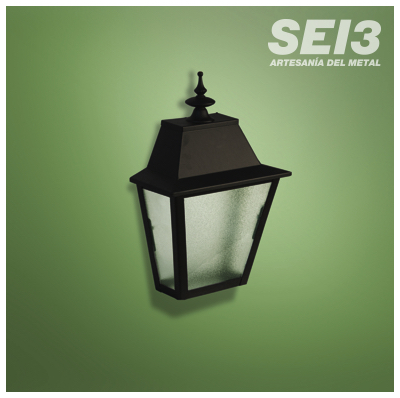 Aplique luminaria exterior albaic n p tienda de iluminaci n - Apliques de luz rusticos ...